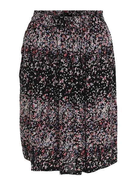 soyaconcept blommig kjol black combi