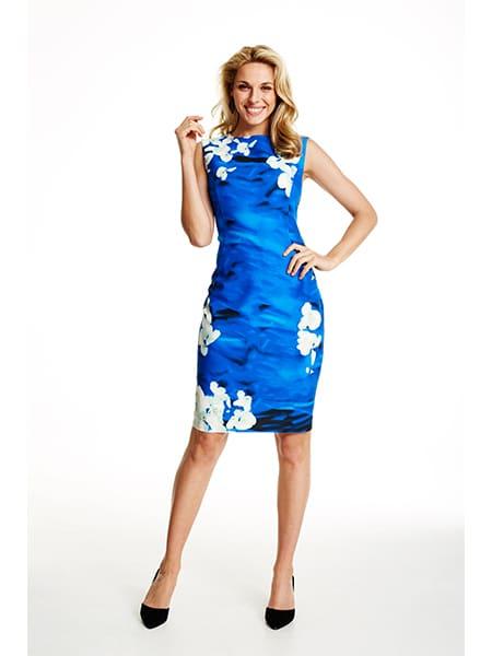 molly-jo blommig klänning