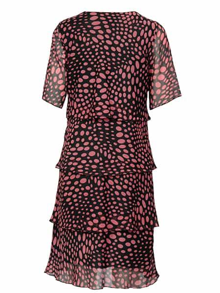 signature klänning med volanger