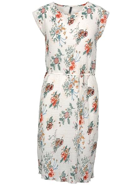 imitz blommig sommar klänning