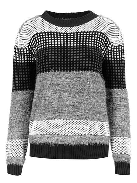 imitz jaquard pullover