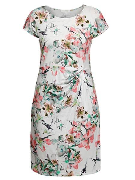 mingel elvy blommig klänning