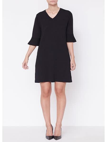 isay nimo svart klänning