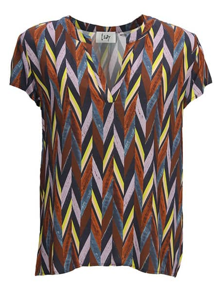 isay v-ringad blus annica