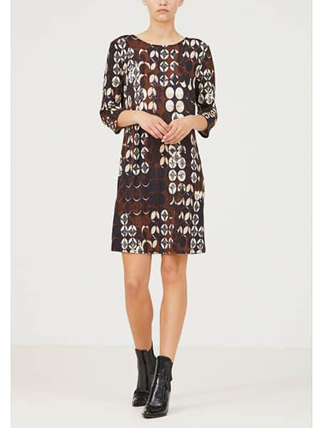 isay ewy klänning brun