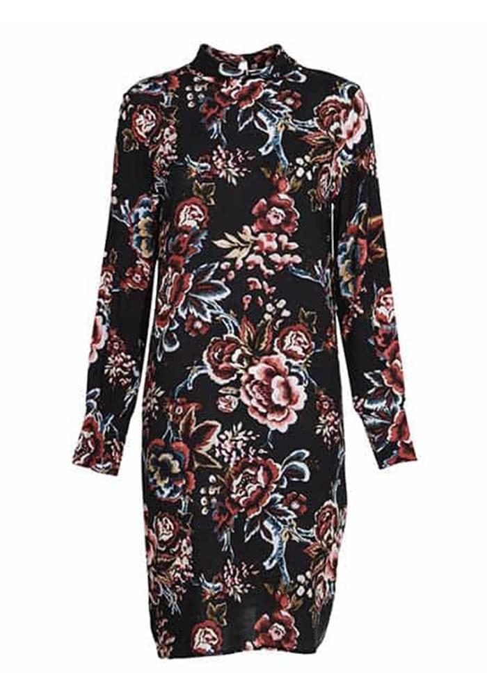 soyaconcept blommig klänning nicole
