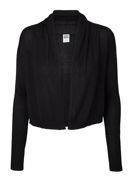 vero moda cardigan svart
