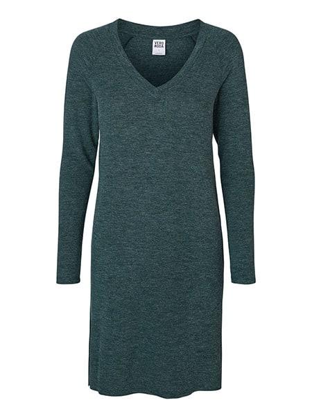 vero moda stickad klänning