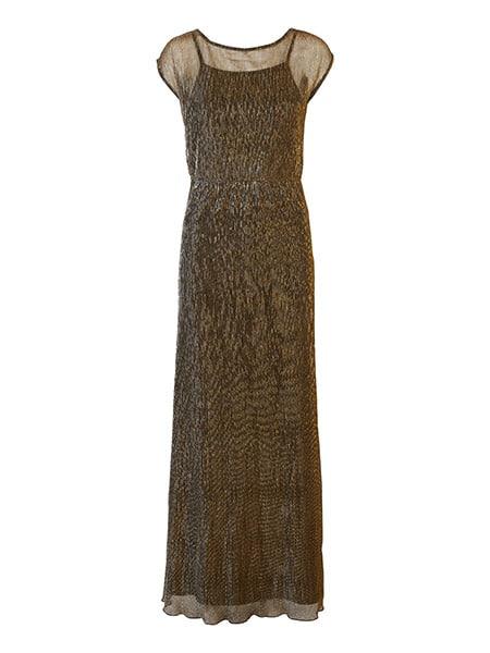 vero moda maxi klänning lurex