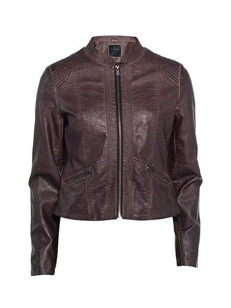 soyaconcept vivette jacket brown