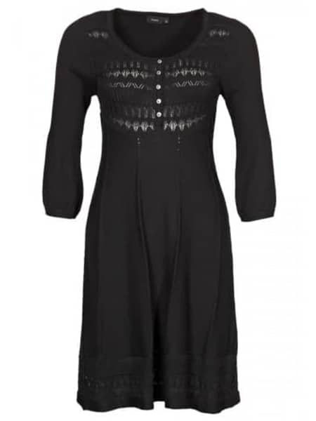 fransa stickad klänning