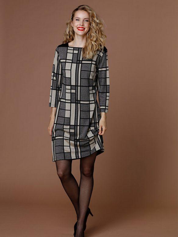 jersey klänning dacon