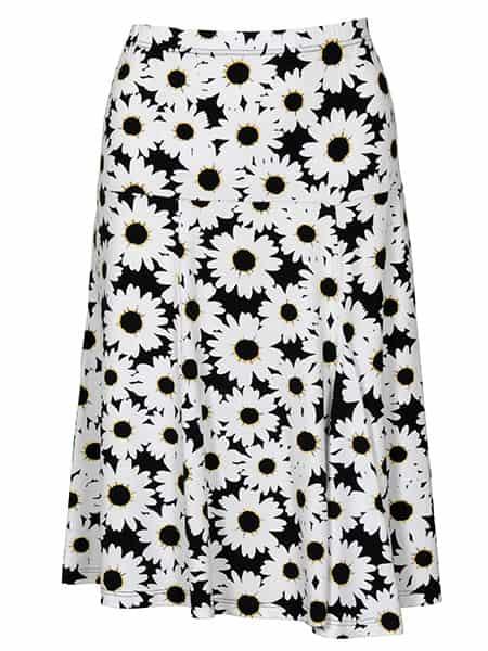 signature kjol blommor