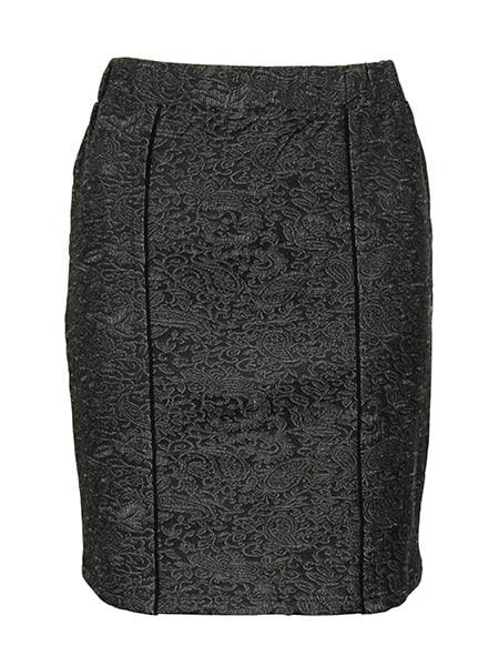 signature kjol jacquard