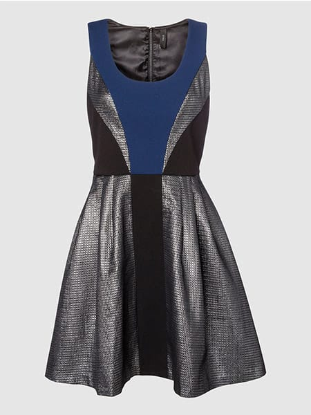 Y.A.S Party Dress Silver