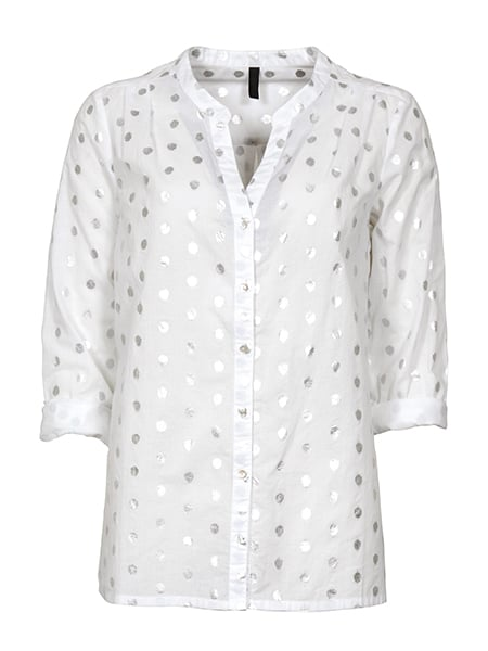 Imitz Långärmad Skjorta Vit