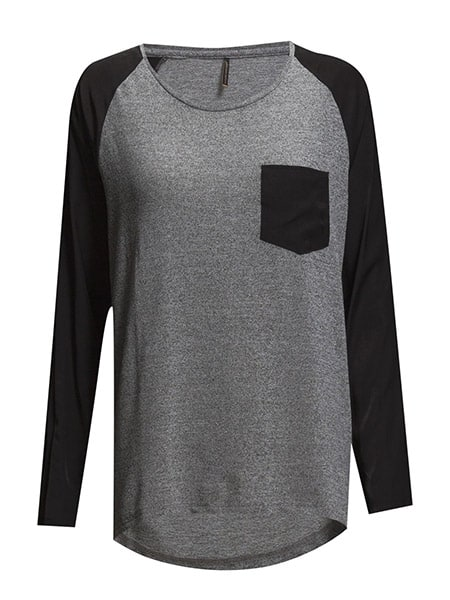soyaconcept pullover grå combi