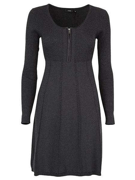 fransa klänning zubasic grå