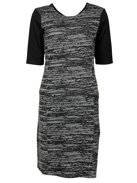 imitz kortärmad jersey klänning