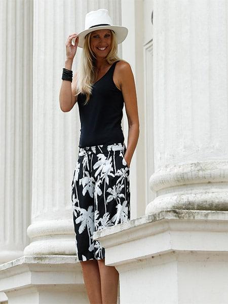 Liza Bermuda Shorts