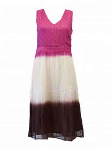mingel klänning cerise