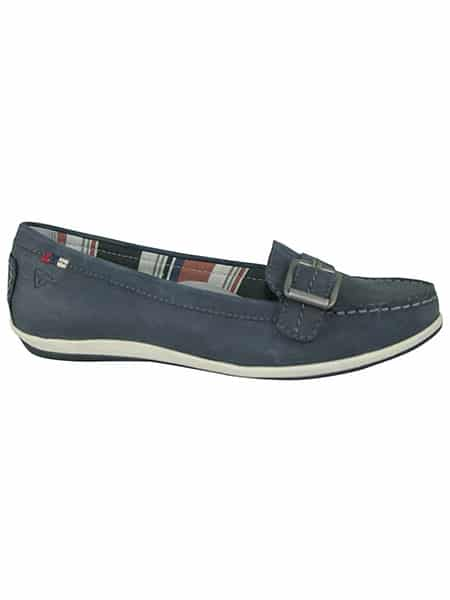 tamaris loafers navy
