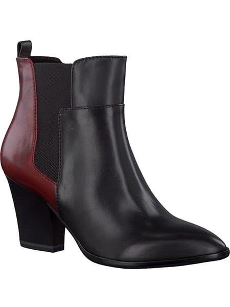 Tamaris Black Medoc Boots