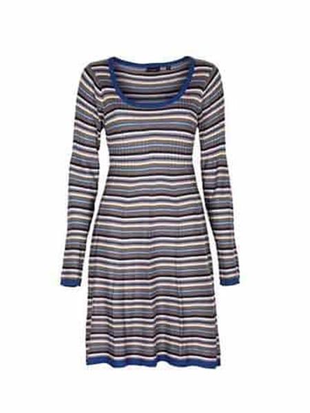 Fransa Gestripe klänning