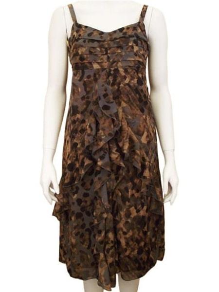 soya concept sybil 2 klänning brun