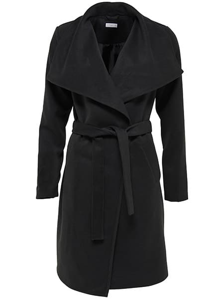 only trenchcoat black