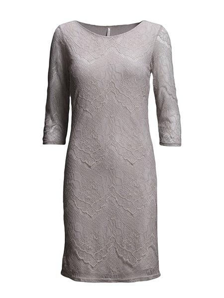 soyaconcept spetsklänning ljusgrå