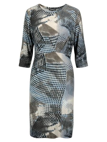 brandtex klänning horizon blue