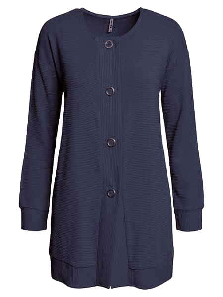 imitz cardigan blue wave