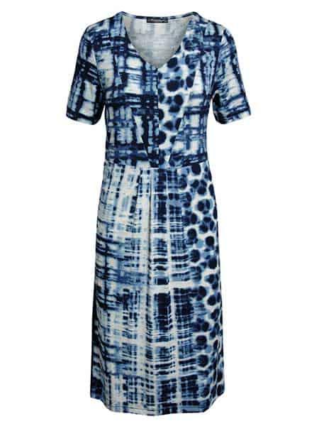 brandtex viskos klänning blue