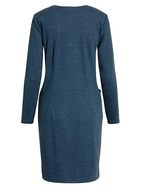 brandtex jerseyklänning blue