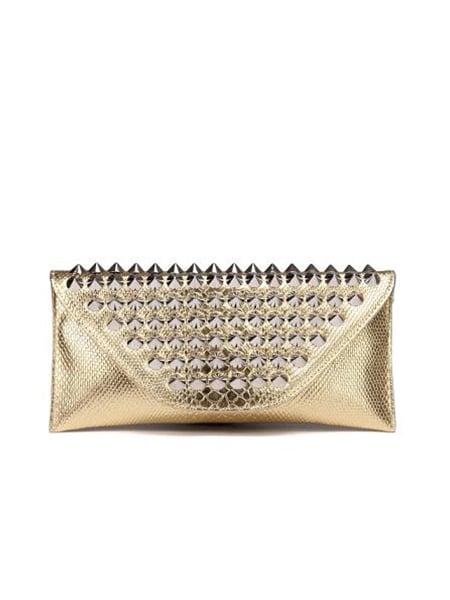 charmant handväska guld