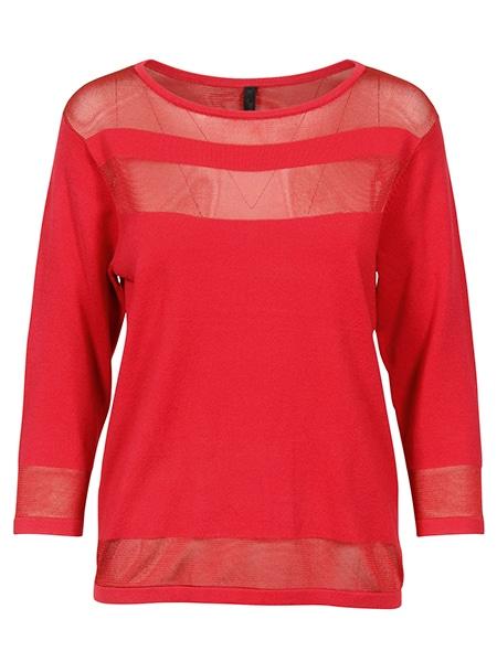 jensen pullover happy red