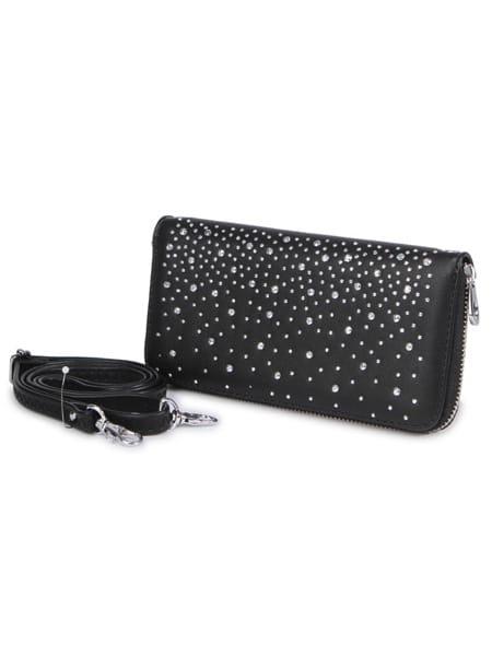 charmat plånboksväska med stenar