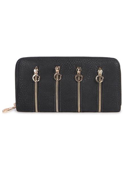charmant plånbok svart