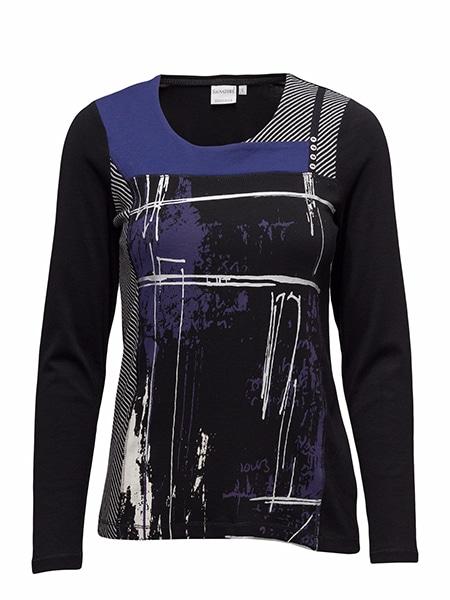 signature t-shirt långärmad purple