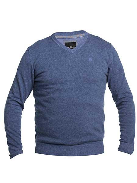 erla finstickad tröja blue