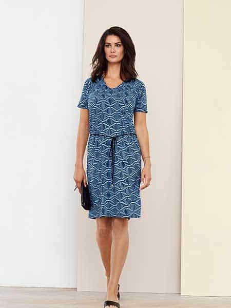 jensen klänning blue mix
