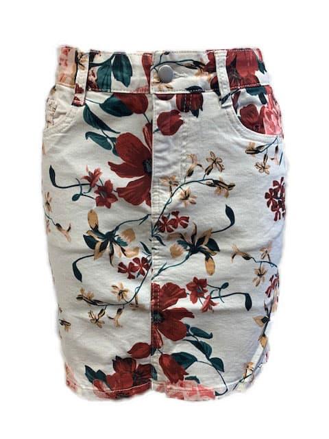 chica london blommig kjol