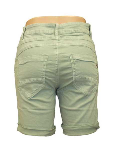 chica london shorts ljusgrön