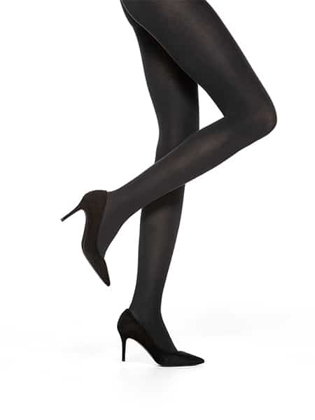 vogue tights silky cotton