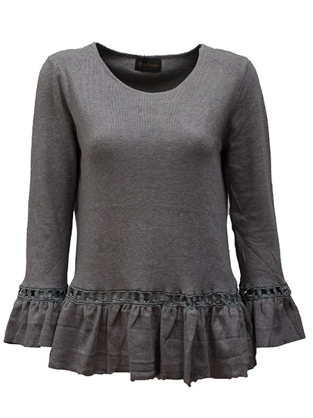 chica london pullover grey