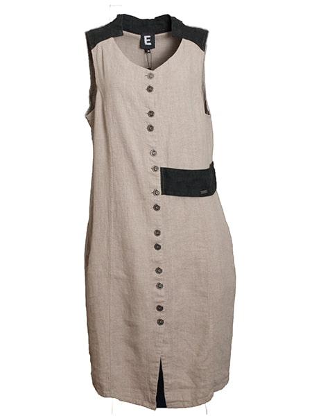 e-potempa linen klänning