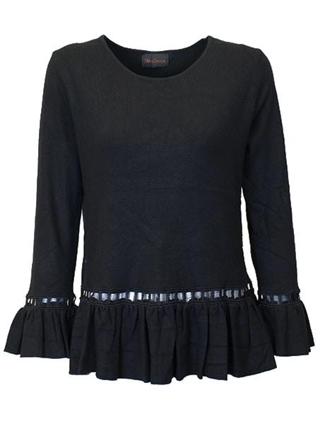 chica london pullover svart