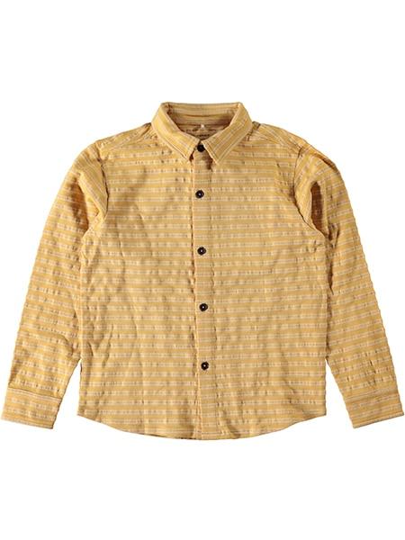 nameit långärmad skjorta gul