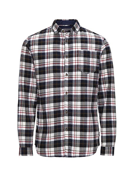 jack and jones rutig skjorta slim